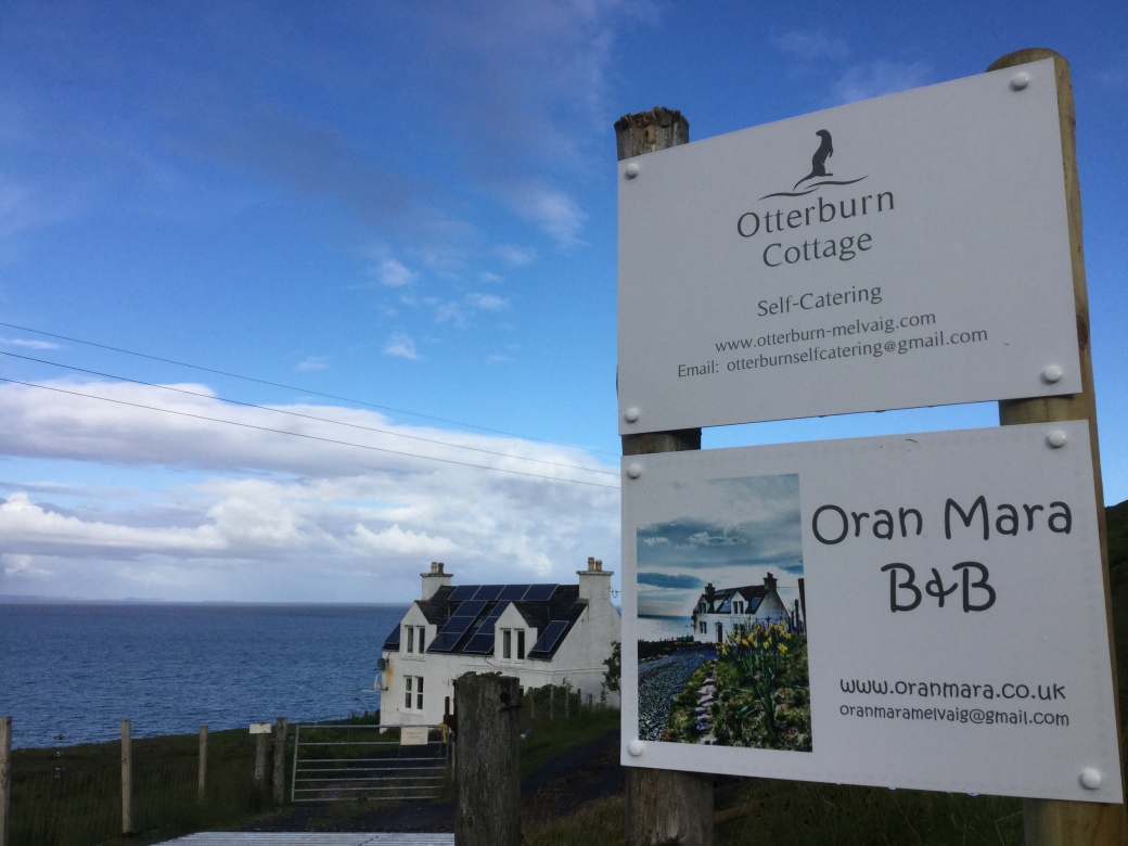 iOranmaraSign Otterburn sign